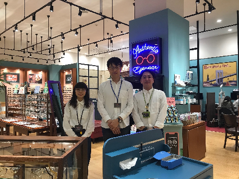 OPTIQUE PARIS MIKI イオンモール津南店 ≪フリーター歓迎≫の画像・写真