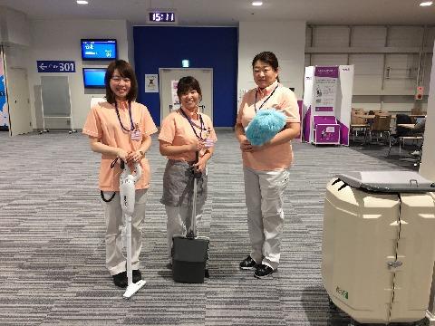 ダイケンビルサービス 関西国際空港内の求人画像