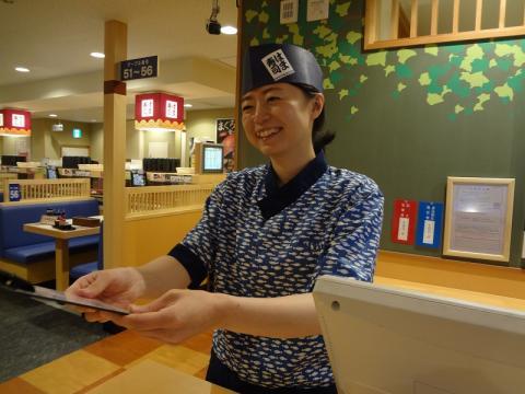 はま寿司 122号羽生店≪ランチスタッフ≫の求人画像