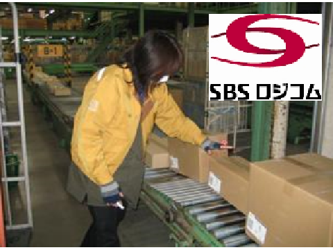 SBSロジコム株式会社 伊勢崎支店/アルバイト・パート/軽作業/ラベル貼の画像・写真