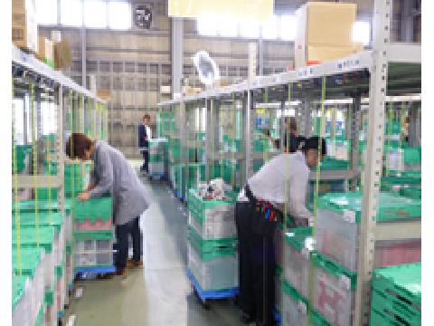 SBSロジコム株式会社 松山支店/アルバイト/パート/軽作業/仕分け/倉庫の画像・写真