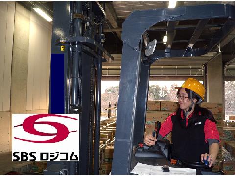 SBSロジコム株式会社 佐倉物流センター支店/フォークリフト/リフト作業の画像・写真