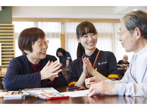 介護付有料老人ホーム ソラスト大宮東 介護スタッフの画像・写真