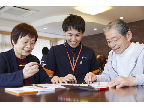 【正社員】グループホーム ソラスト川越 介護スタッフの画像・写真