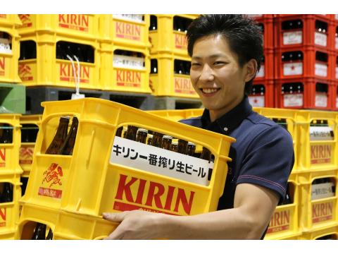 カクヤス 埼玉センター 配達助手スタッフの画像・写真