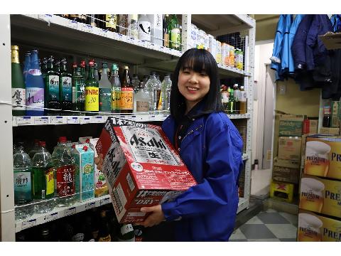 カクヤス 浅草橋店 レジスタッフの画像・写真