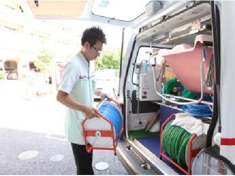 アースサポート 伊勢崎 訪問入浴スタッフ ≪オペレーター≫の画像・写真