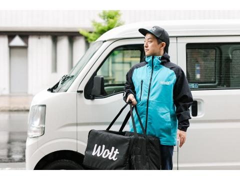 Wolt (ウォルト) 軽貨物ドライバー【函館/五稜郭公園前駅周辺エリア】の画像・写真