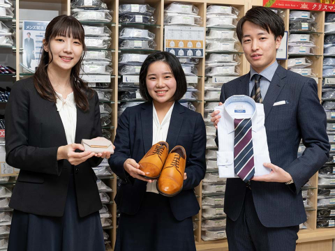 AOKI 新潟弁天橋店 ≪フルタイム≫の画像・写真