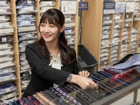 AOKI 研究学園店 ≪短時間勤務≫の画像・写真